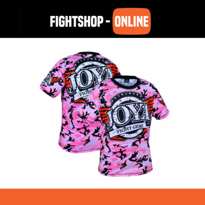 Joya T-Shirt - Camo Roze