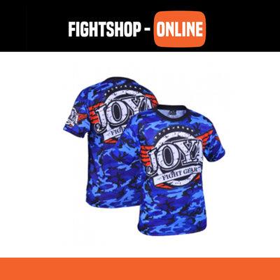 Joya T-Shirt - Camo Blauw